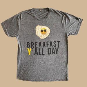 "'""Breakfast Y'all Day"" Tee Shirt"